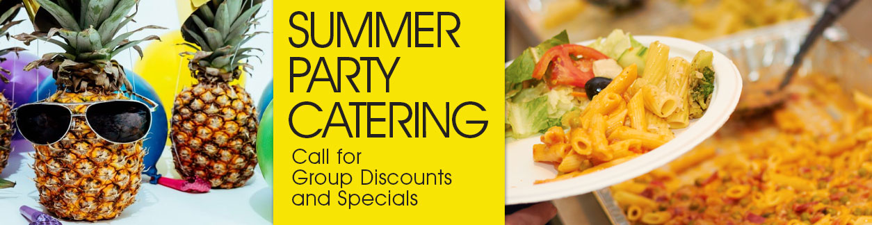 Eataliana Pasta Summer Party Catering