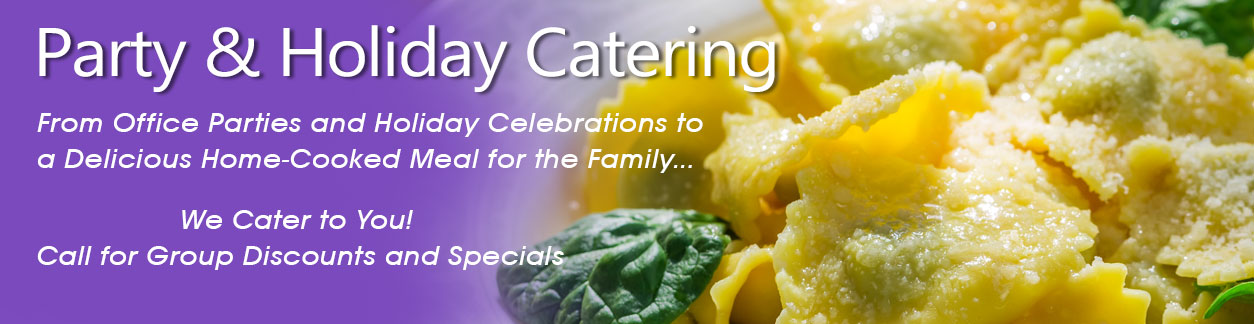 Catering and party services